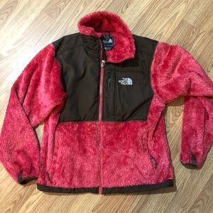 North Face Osito Fuzzy Jacket EUC